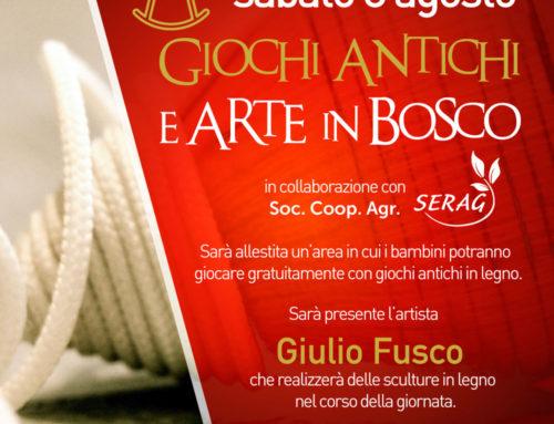 Giochi Antichi e Arte in Bosco