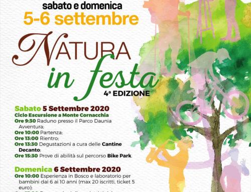 Natura in Festa: Sabato 5 e domenica 6 settembre la 4a edizione