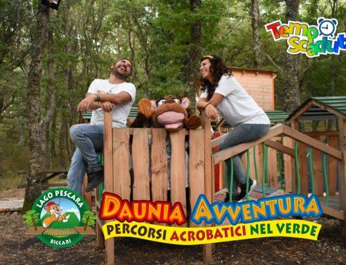 TempoScaduto al Parco Daunia avventura