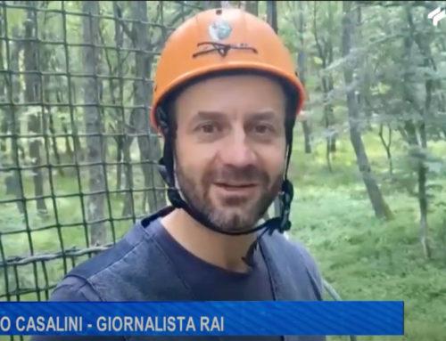"""Antenna Sud: Emilio Casalini porta il suo programma RAI """"Generazione Bellezza"""" al Parco Daunia Avventura"""